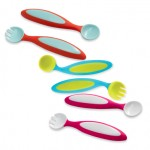 Boon: meal time fun utensil spoon sippy modern meal fluid ergonomical drink catch bowl boon bender