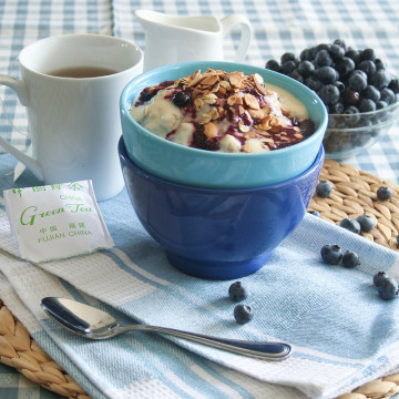 blueberry cobbler oatmeal