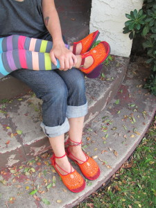 for YOUR feet only {custom footwear by Le pied lèger} + giveaway  shoes mom kids handmade giveaway etsy coupon code accessories