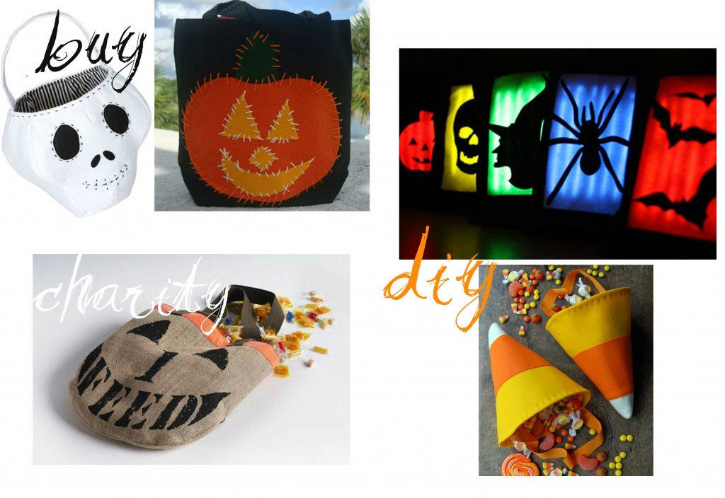 {Top 5} Halloween Trick or Treat Bags   Sarah Top 5 halloween DIY charity