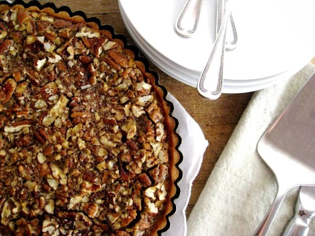 Buorbon &amp; Maple Pecan Pie