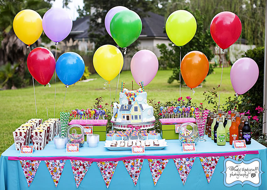 This UP! party will knock your socks off {Birthday Party} wendy updegraff UP birthday party