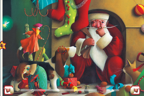  The Night Before Christmas {app} kids interactive ebook book app 