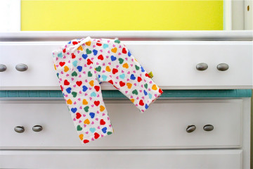 tutorial for baby pajama pants sew