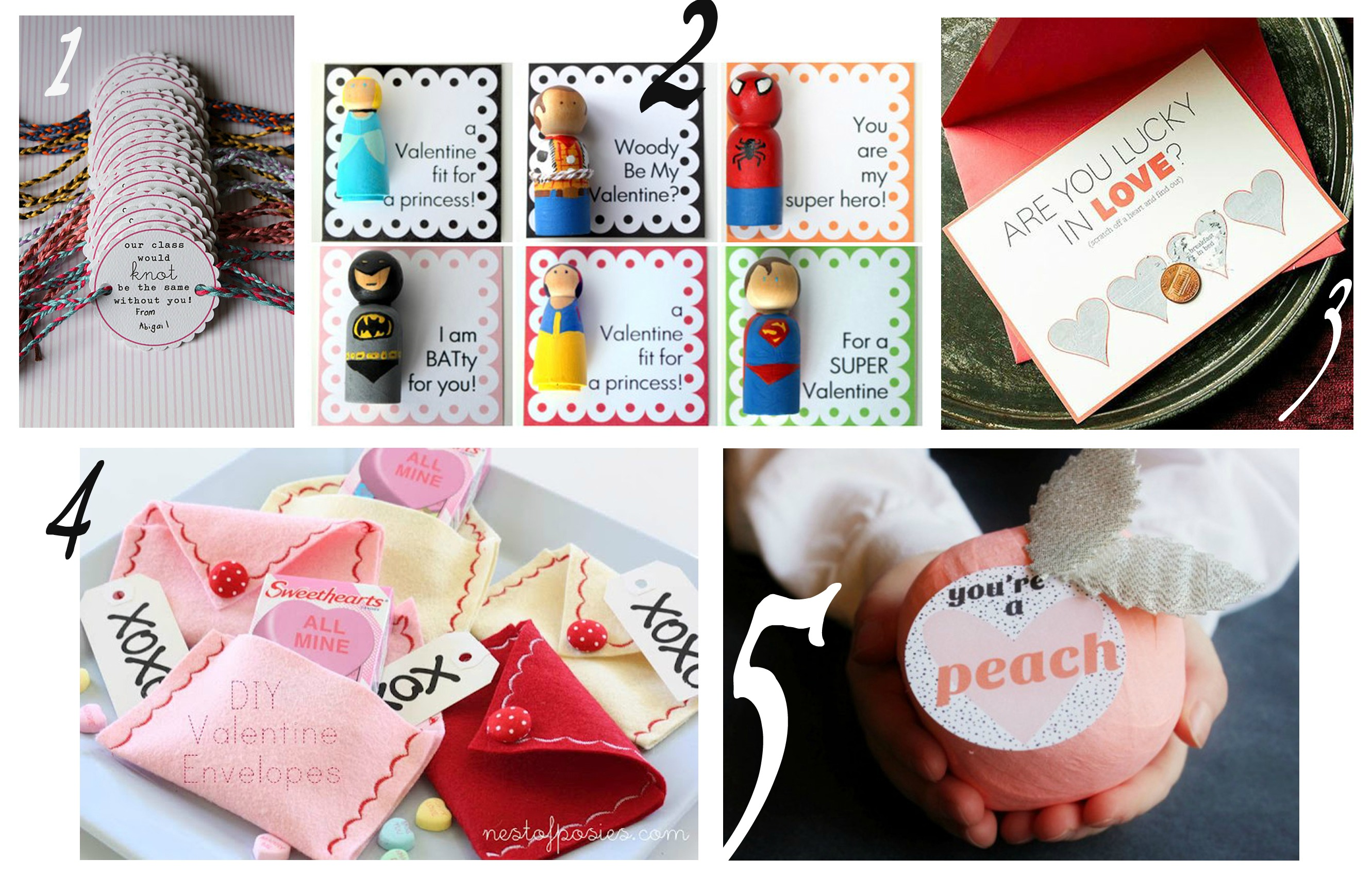 Top 5 DIY valentines kids crafts