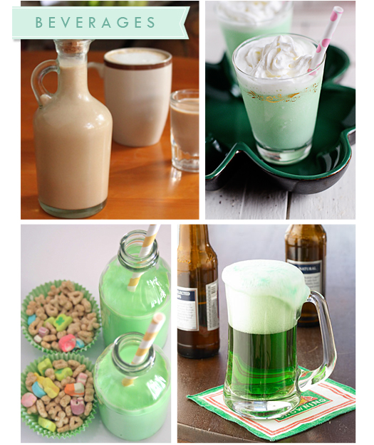 St. Patricks Day Recipe Roundup! st. patricks day recipes party