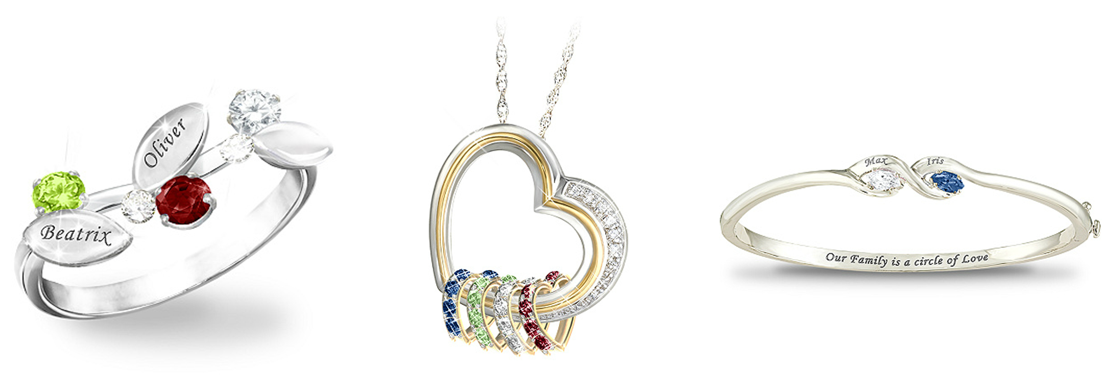 Mother&#039;s Day birthstone jewelry