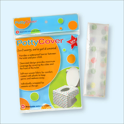  disposable toilet seat covers {PottyCover} travel sanitary safety potty training Potty 