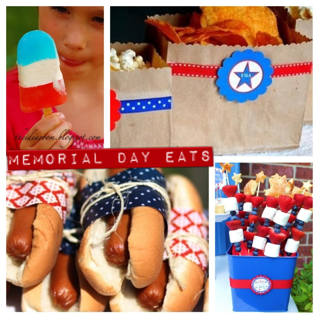 Memorial Day Round Up! memorial day crafts bbq