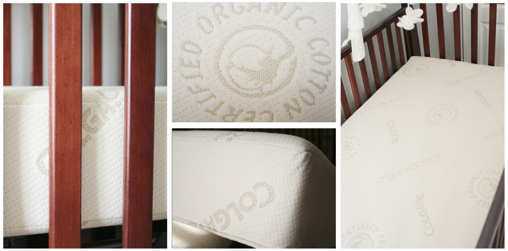 Safe Crib Mattress & Cover {Colgate} + giveaway waterproof SIDS organic nursery mattress cover mattress crib