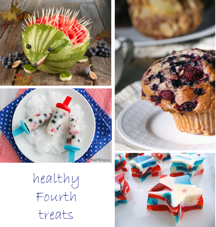 healthy kids snacks fourth of july