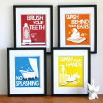 breaking the nightlight mold {Adam Frank} nursery mom kids decor art