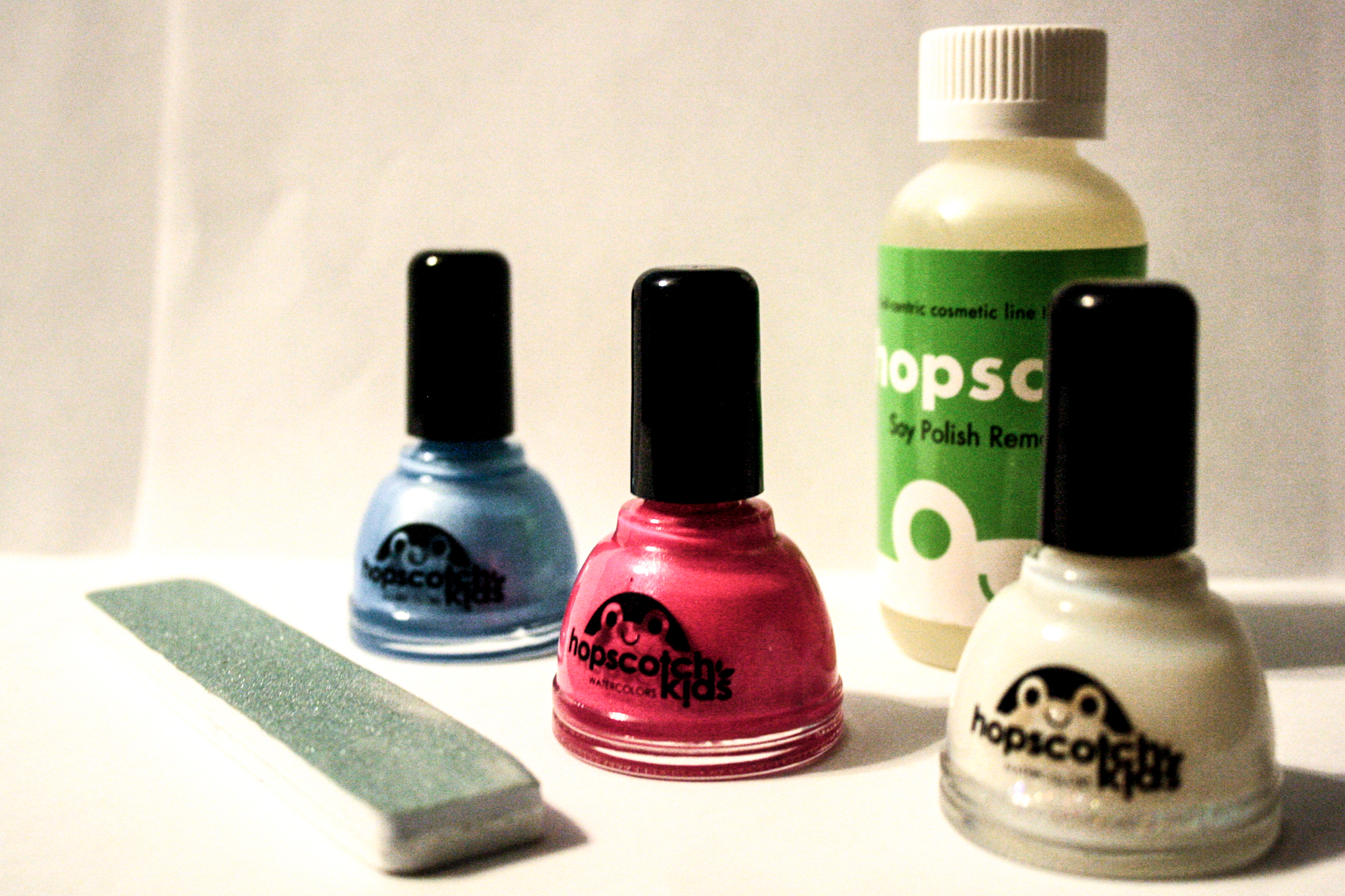 Non-Toxic, Kid-Safe Nail Polish and Remover {Hopscotch Kids} - in ...