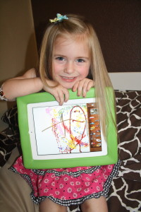 Kid Friendly iPad Protection {Big Grips} + Giveaway tech iPad Big Grips
