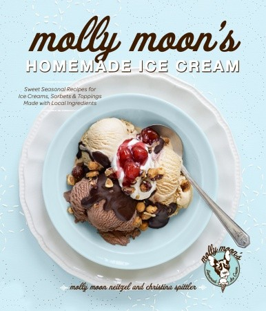 Molly Moons Homemade Ice Cream {Sweet Seasonal Recipes} + Giveaway sasquatch books recipe book molly moons homemade ice cream
