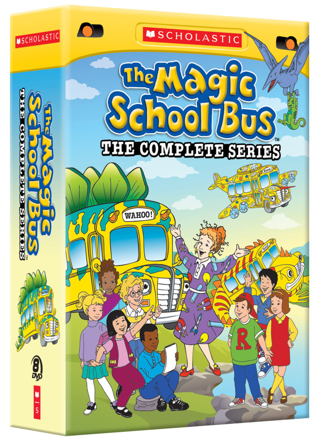The Magic School Bus DVD series