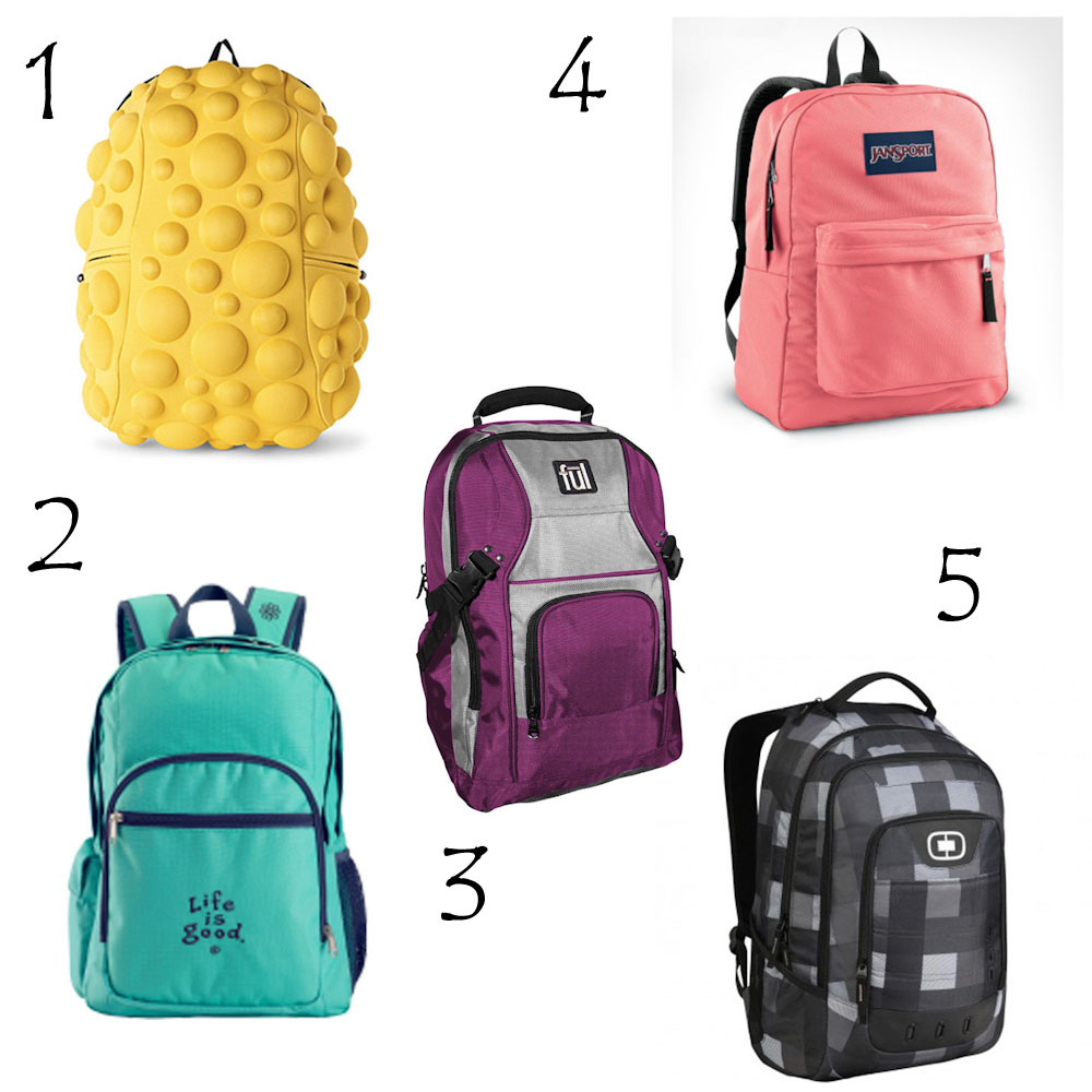 top backpacks for kids school