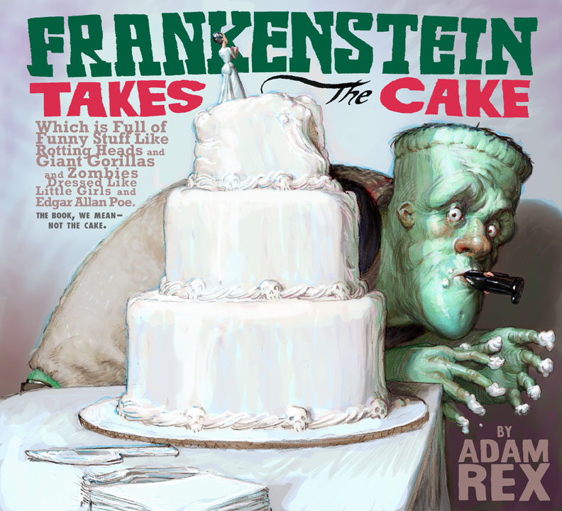 Frankenstein kids book