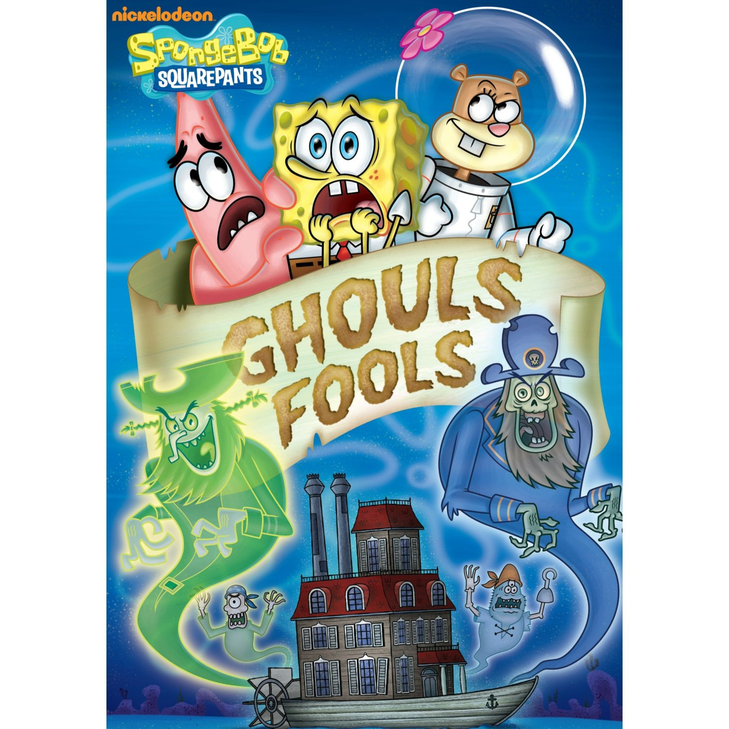 Spongbob squarepants halloween dvd