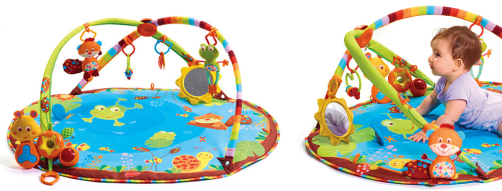 Gymini My Nature Pals {Tiny Love} Giveaway tummy time playmat HGG baby baby gear activity gym