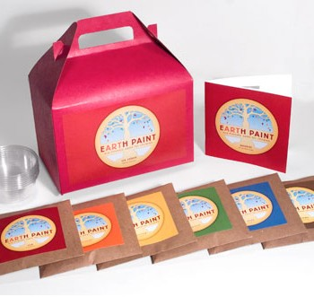 Earth Paint Children's Kit
