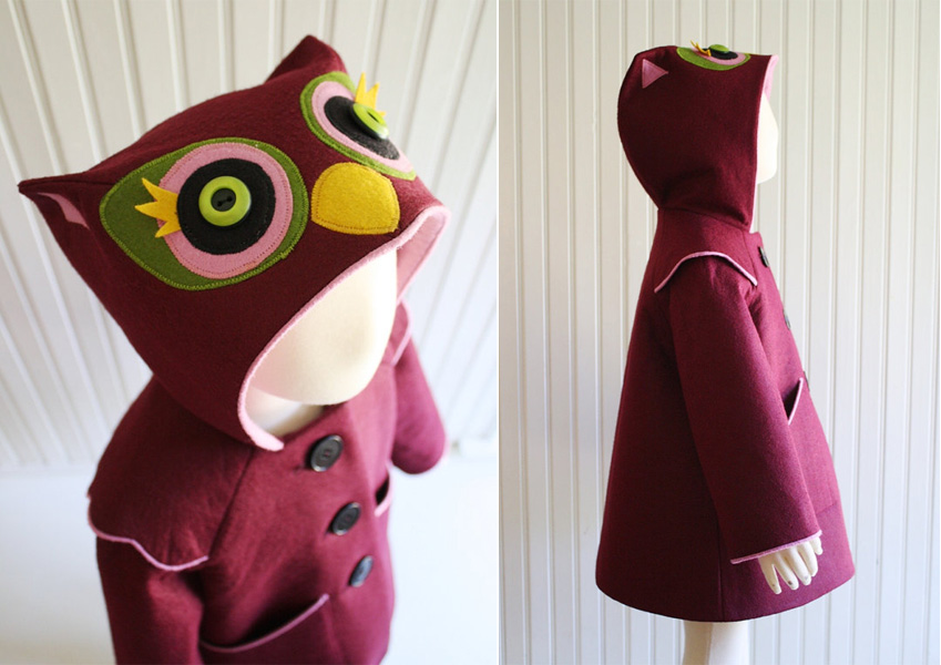 Little Goodall Sweetheart Owl Coat