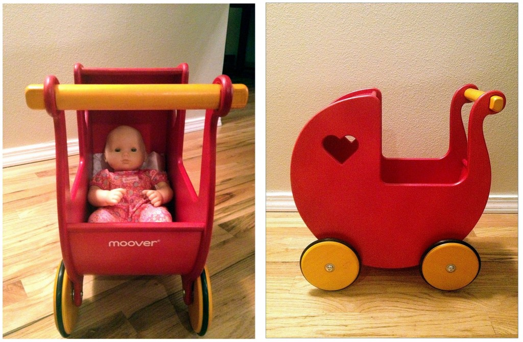 Wooden Doll Pram In The Know Mom