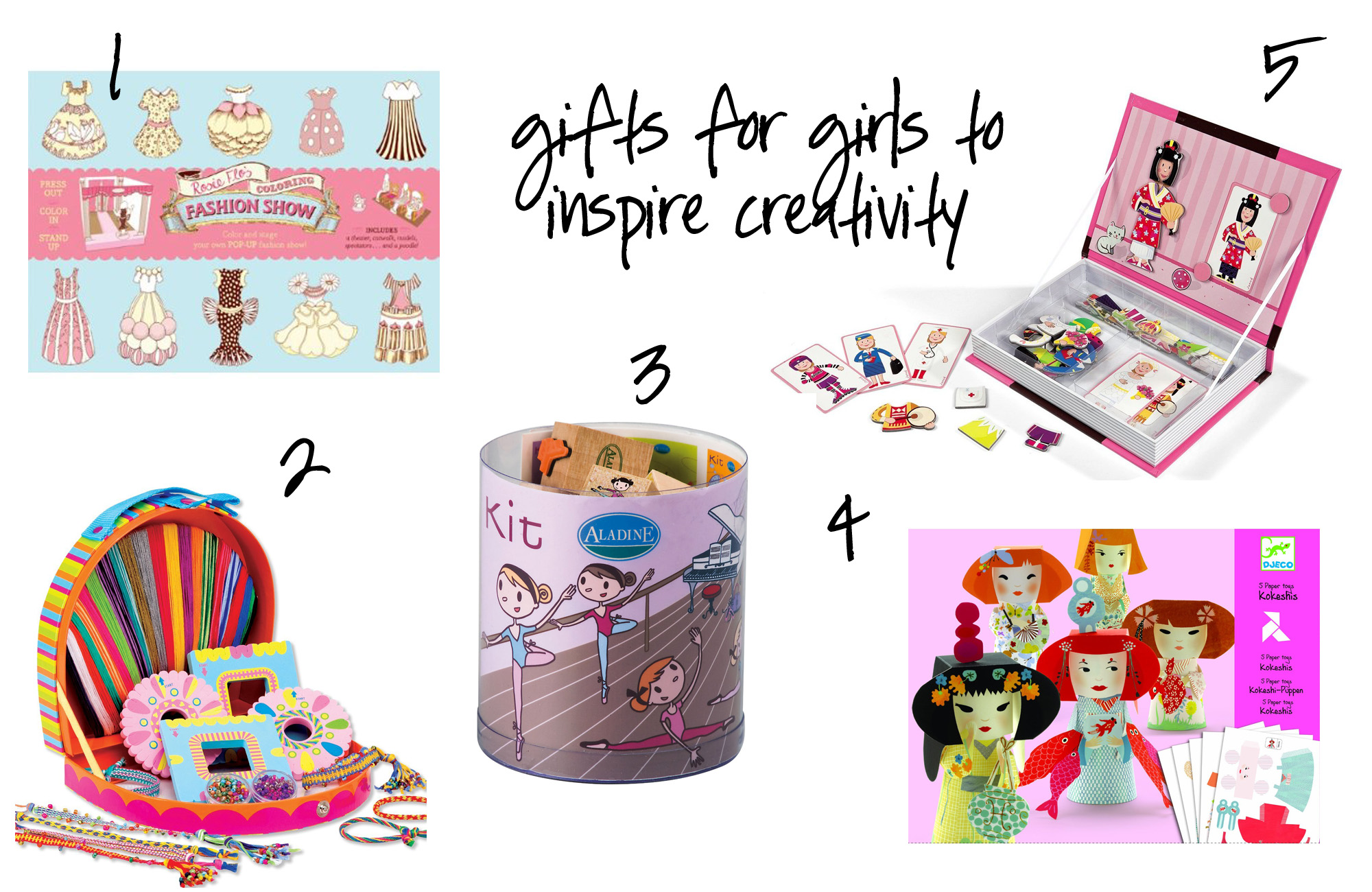 gifts for girls to inspire creativity