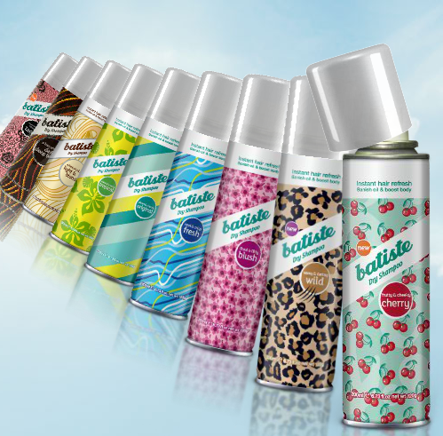 batiste dry shampoo