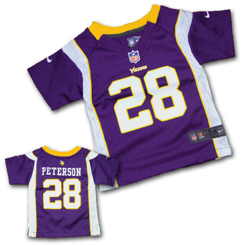 baby vikings jersey peterson