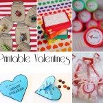 easy and festive garlands {Valentines Day} valentines day holiday festive entertaining DIY decor craft