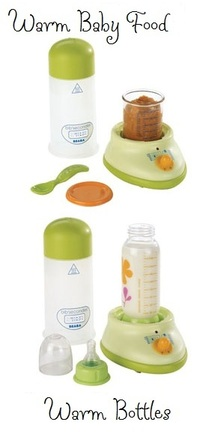 perfectly heated bottles in Bibsecondes {Beaba} bottle warmer bibsecondes bibexpresso beaba