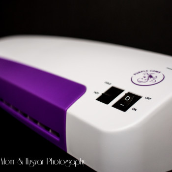 purple cows laminator