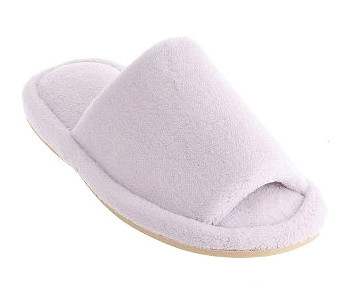 nature's sleep open toe slippers review