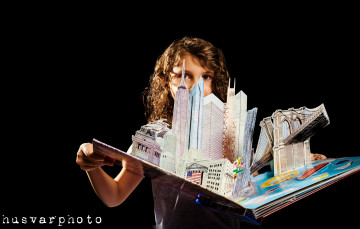 new york pop-up book